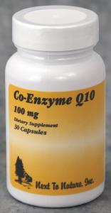 Co-Enzyme Q10 100mg cutout
